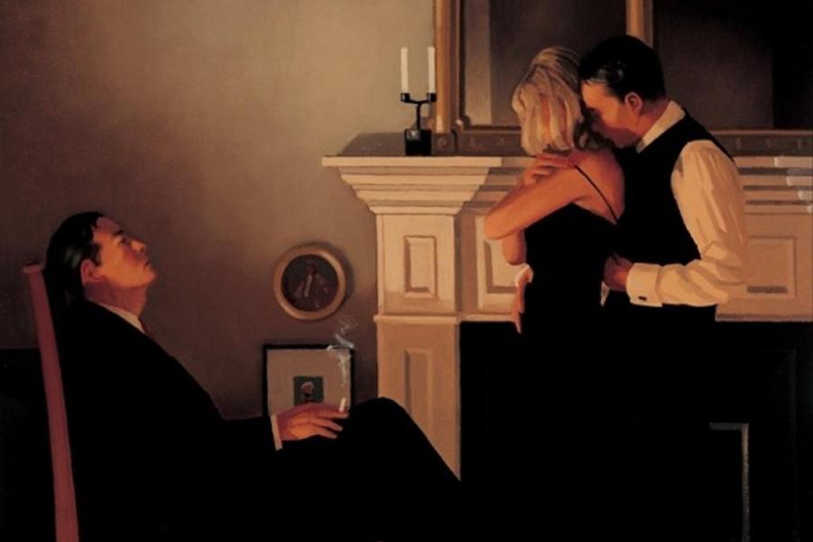 """Шотландский художник покорил мир картинами """"для взрослых"""""""