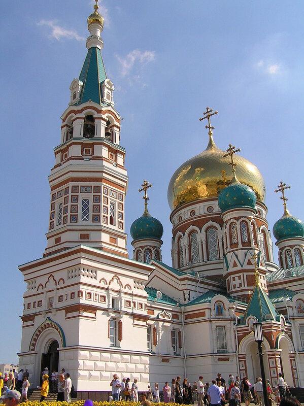 Успенский Кафедральный Собор в г.Омск