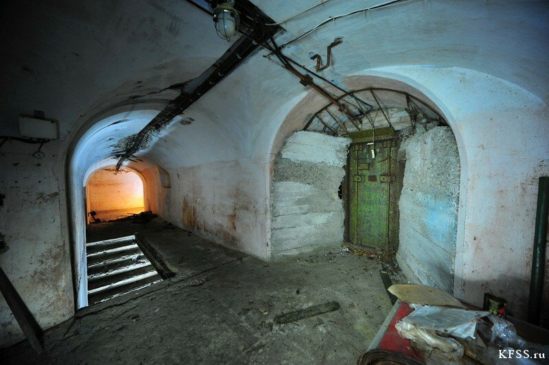 Форт №1 Владивостокской крепости, расположенный близ Горностая, подземная часть