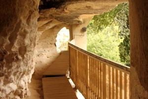 Монастырь в скале Аладжа