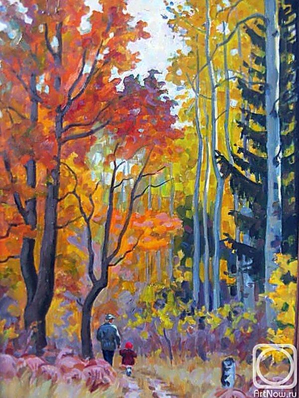 Хохловкина Эльза. Осень на Буже