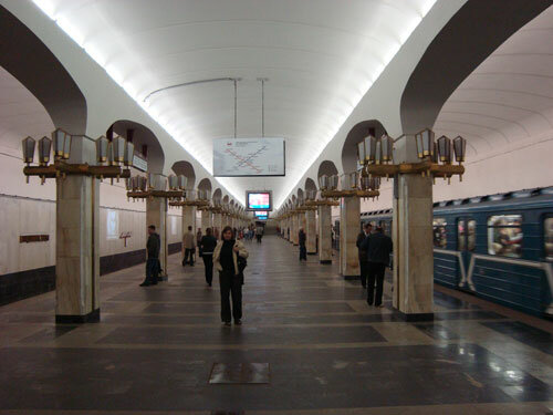 Отдых в Беларуссии: Минск, в метрополитене
