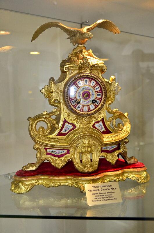 Часы каминные XIX век.Франция.