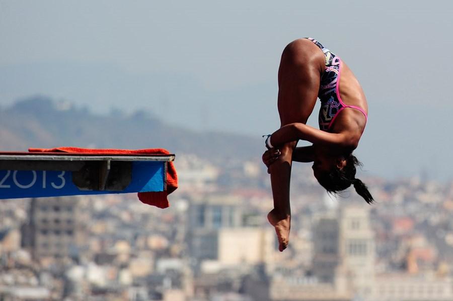 Эффектные фотографии с чемпионата мира по плаванию в Испании 0 e55cd f6aee34b orig