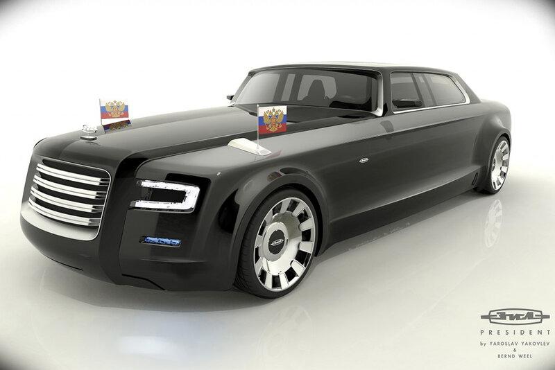 Лимузин, на котором будет ездить Навальный