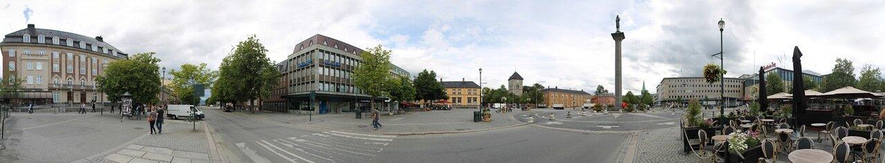 Тронхейм, Торговая площадь (Torvet) panorama