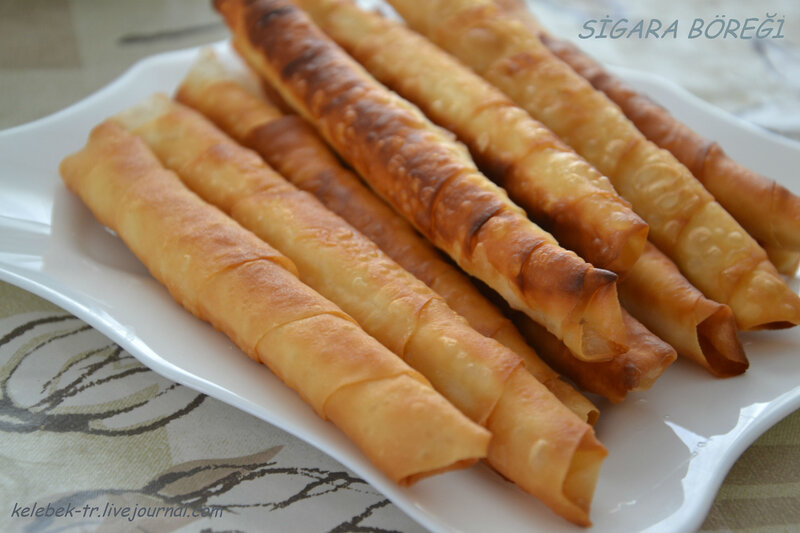 сигара борек по турецкий рецепты с фото