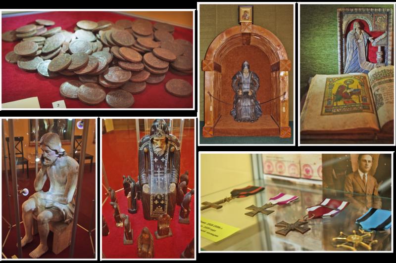 Экспозици в музее «Наследие Преподобного Нила»
