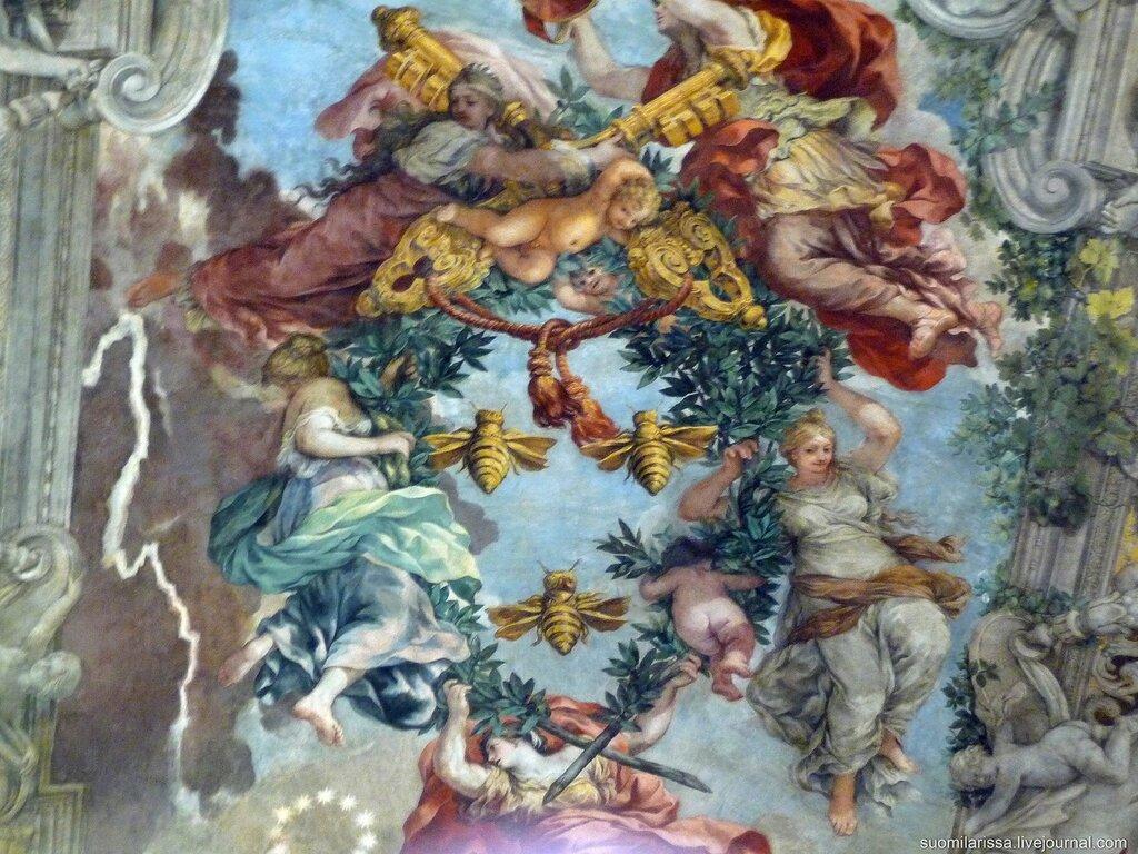 Дворец Барберини. Фреска Пьетро да Кортоны.