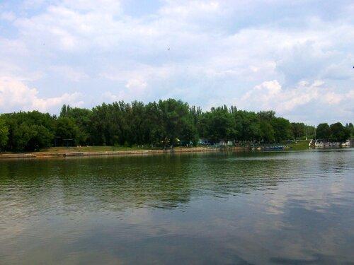 Короленковский ставок. Лодочная станция
