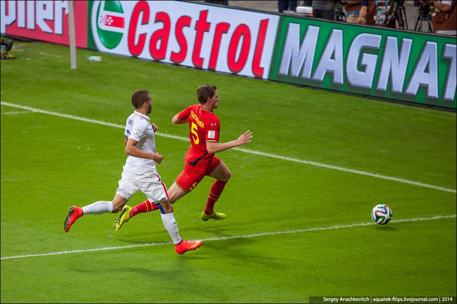 Матч Бельгия-США