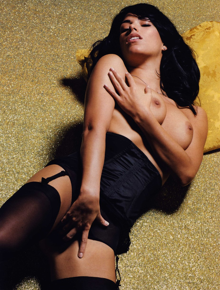 Janine Habeck by Sacha Hochstetter in Playboy Germany 04 2010