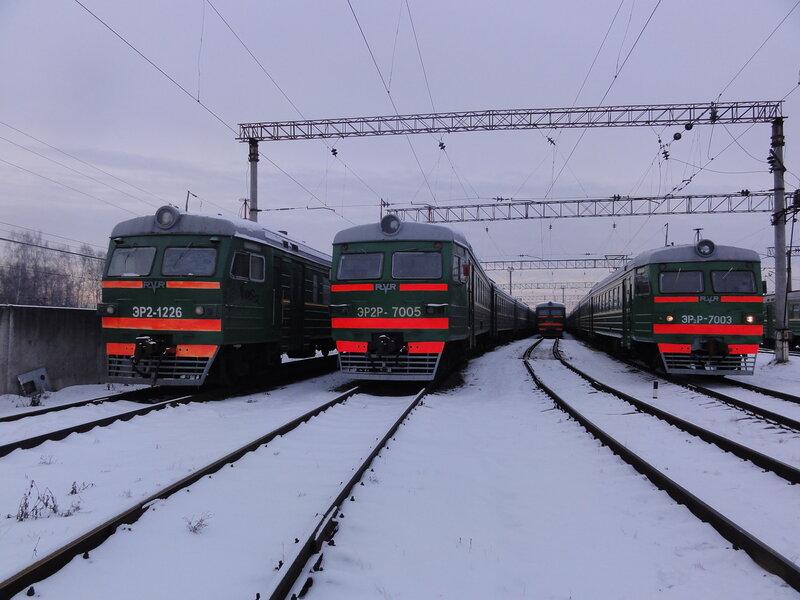 ЭР2-1226, ЭР2-1213, ЭР2Р-7005 и ЭР2Р-7003