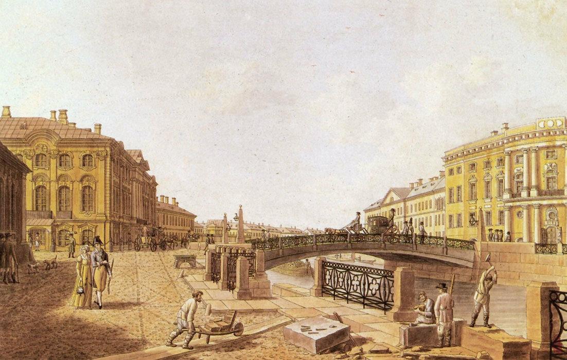 Полицейский мост на Невском проспекте