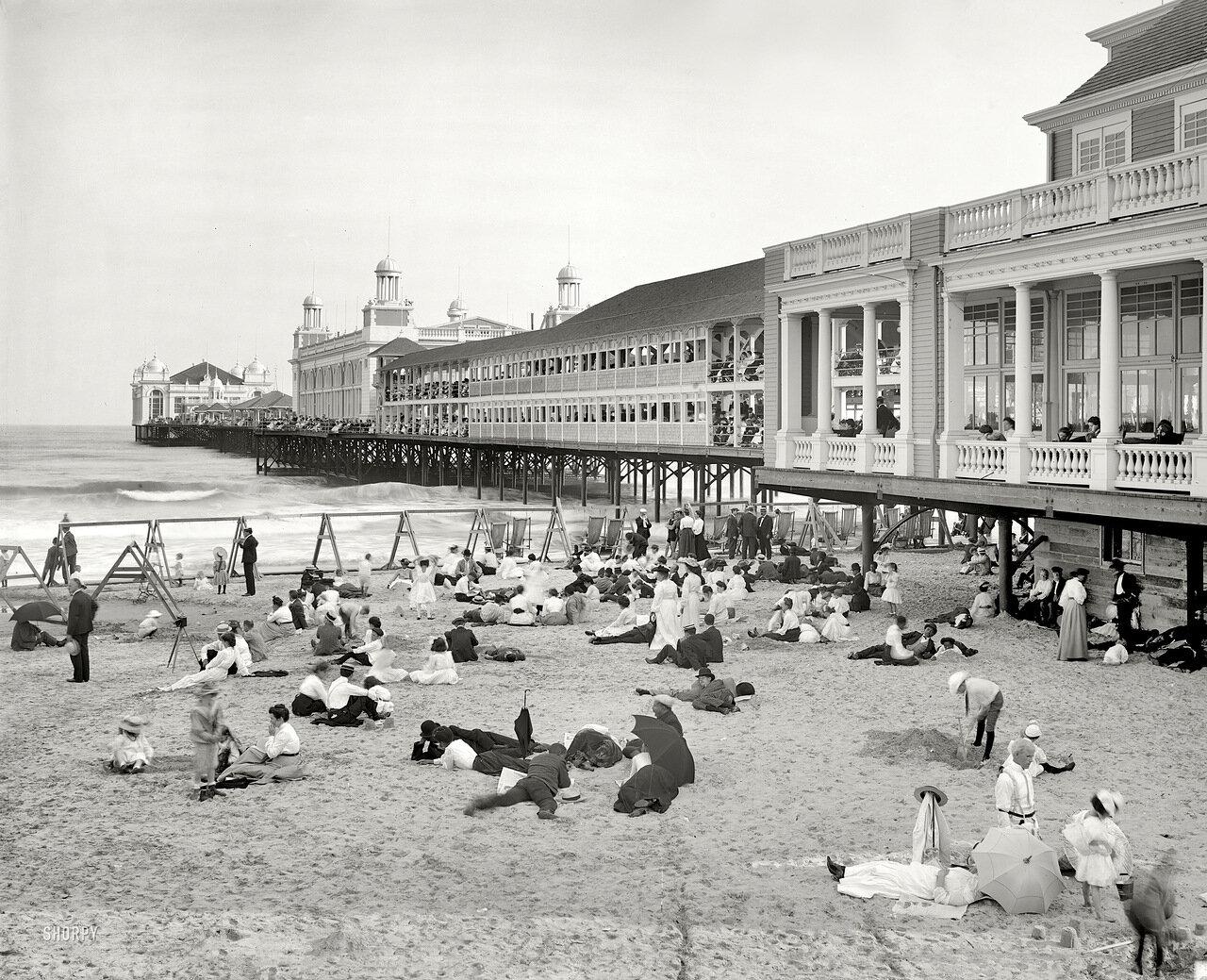 1904. Парк развлечений в Атлантик-сити.