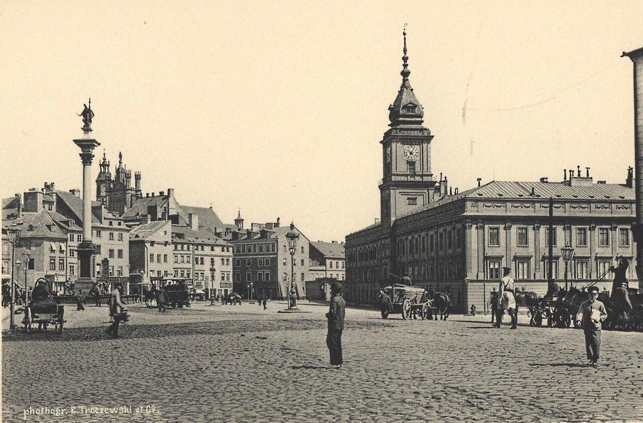 Замковая площадь 1885