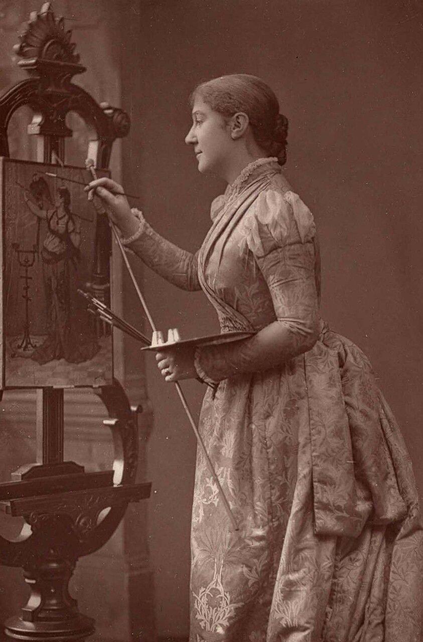 Дама Мэдж Кендал. 1848-1935. В девичестве Маргарет Робертсон. Известная актриса и театральный менеджер, которая вместе со своим мужем придали респектабельность актерская профессия на своем личном примере