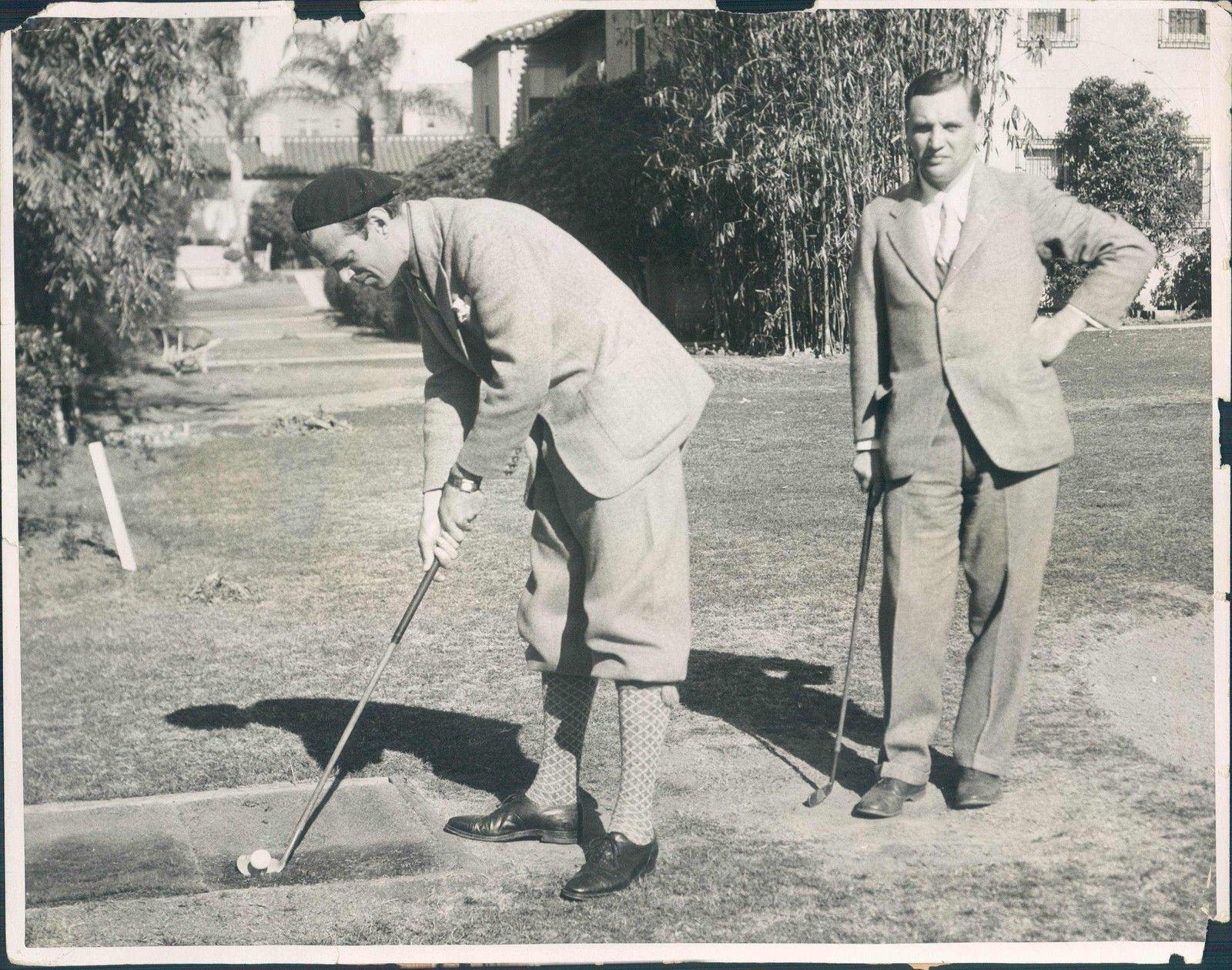 1932. Князь императорской крови Фёдор Александрович Романов играет в гольф в США