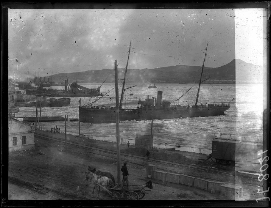 1919. 7 марта. Владивосток. Порт