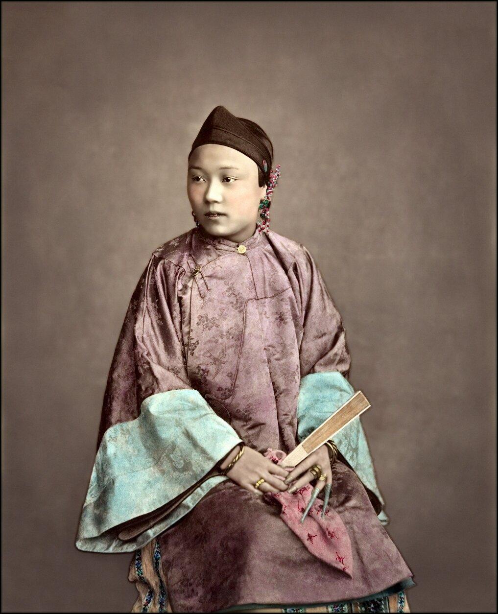 1870. Девушка из Шанхая