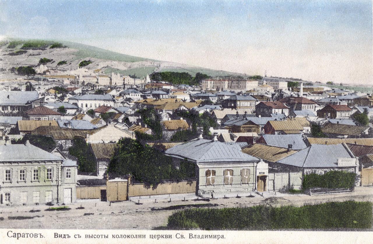 Вид с колокольни Княже-Владимирского собора
