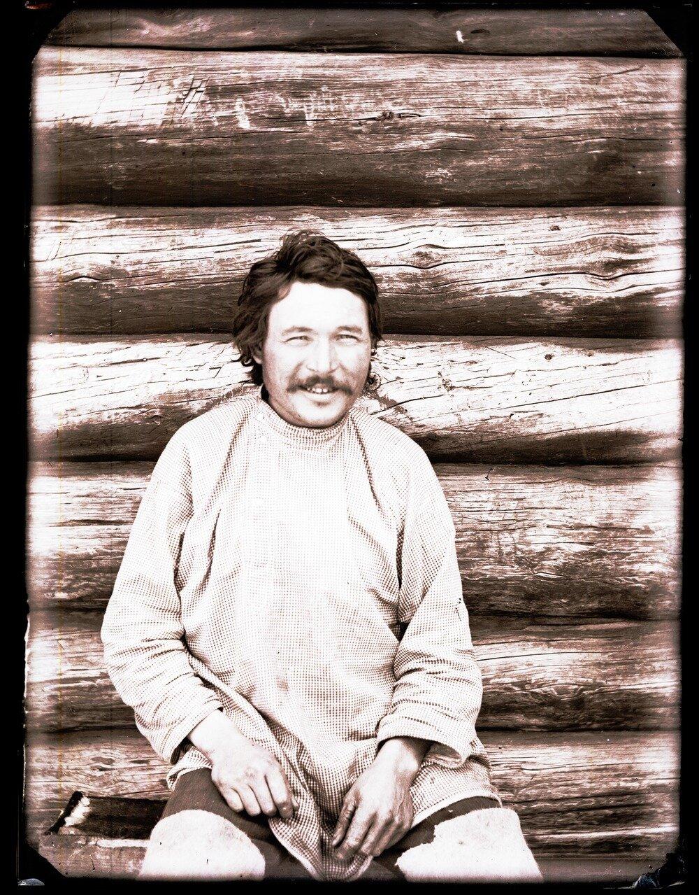 1912. Село Ларьяк.  Остяк