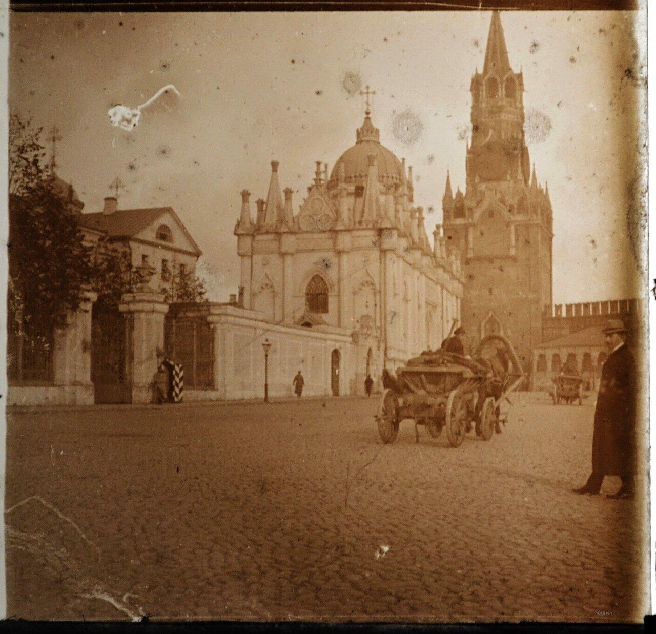 Москва. Спасская башня