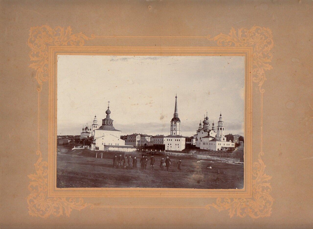 Вид Соликамска, 1900.