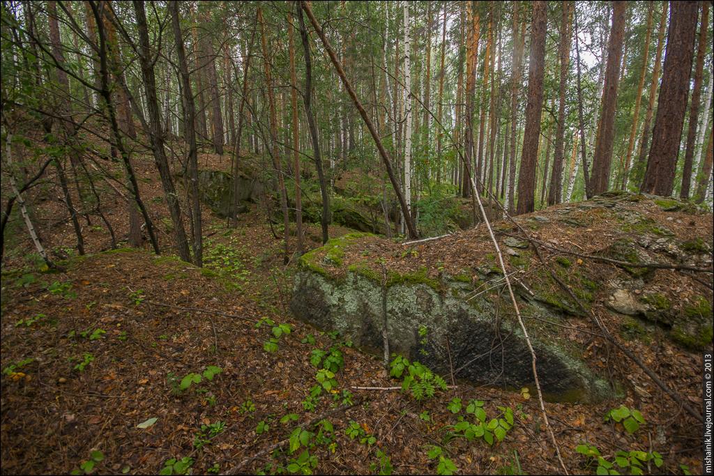 Скитский тальковый рудник