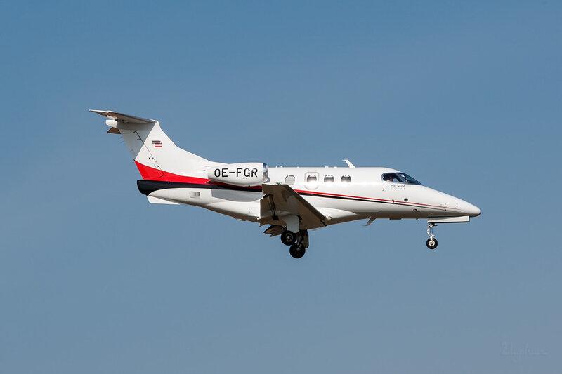 Embraer 500 Phenom 100 (OE-FGR) Grossmann Air Service DSC_3696