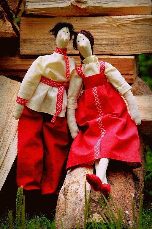 Русская народная кукла тильда