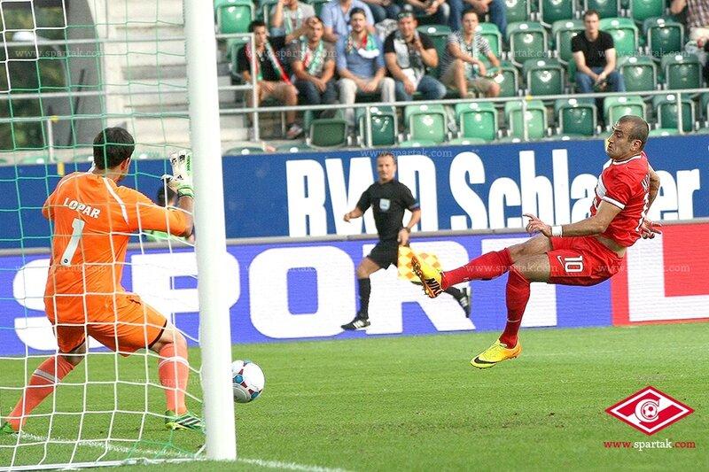 «Санкт-Галлен» vs «Спартак» 1:1 4-й раунд Лига Европы 2013-2014 (Фото)