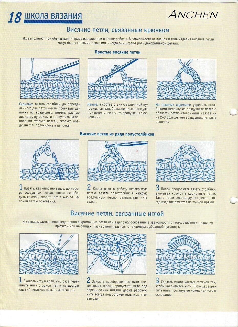 Как связать петли для пуговиц спицами 40