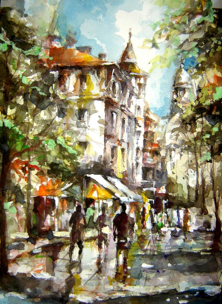 Болгарский художник Любомир Коларов (Lyubomir Kolarov)