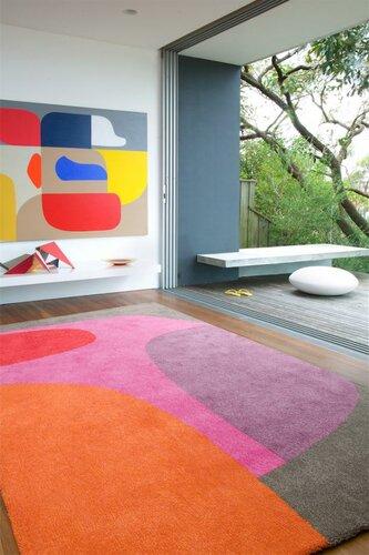 Красивые ковры необычного дизайна