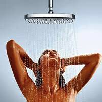 очищение кожи - душ