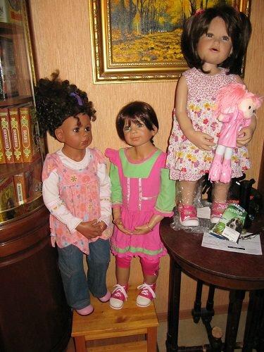 куклы Дарьи Юрлевич