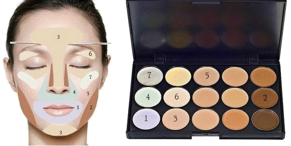 Основы макияжа консилер и корректор
