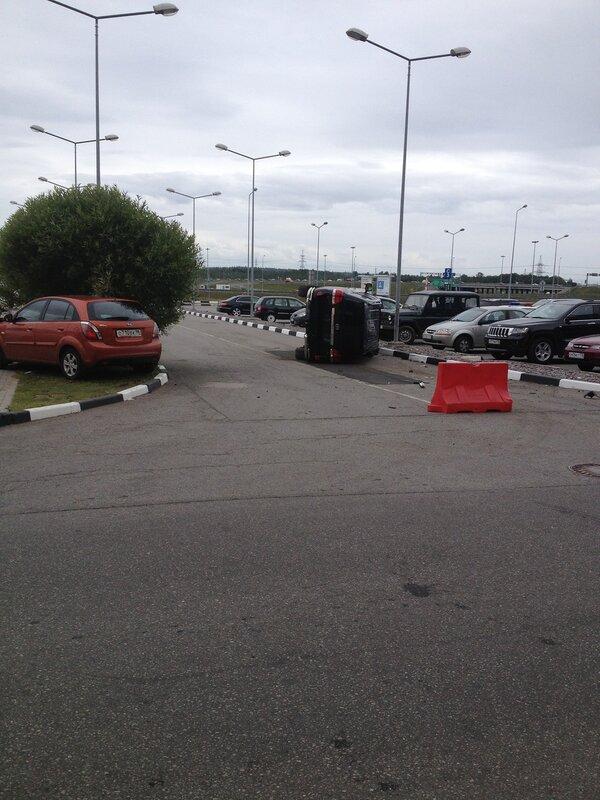Правильная парковка у Меги 2