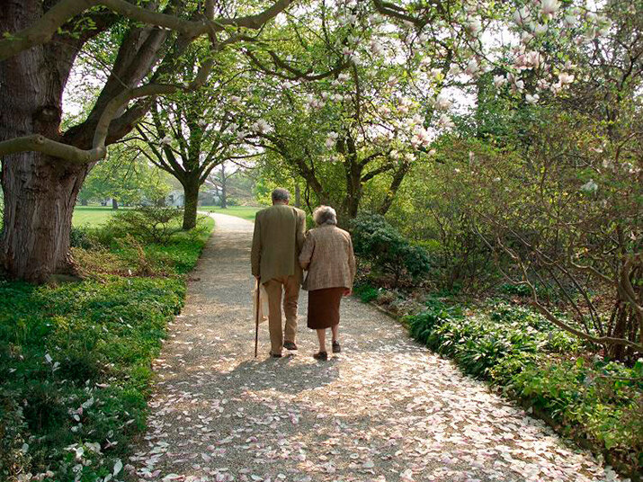 Фото «Настоящая любовь не стареет никогда!»