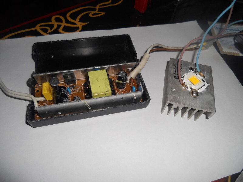 Радиатор для светодиодов 3w своими руками 68