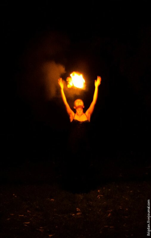 VALENKI водка на fire show