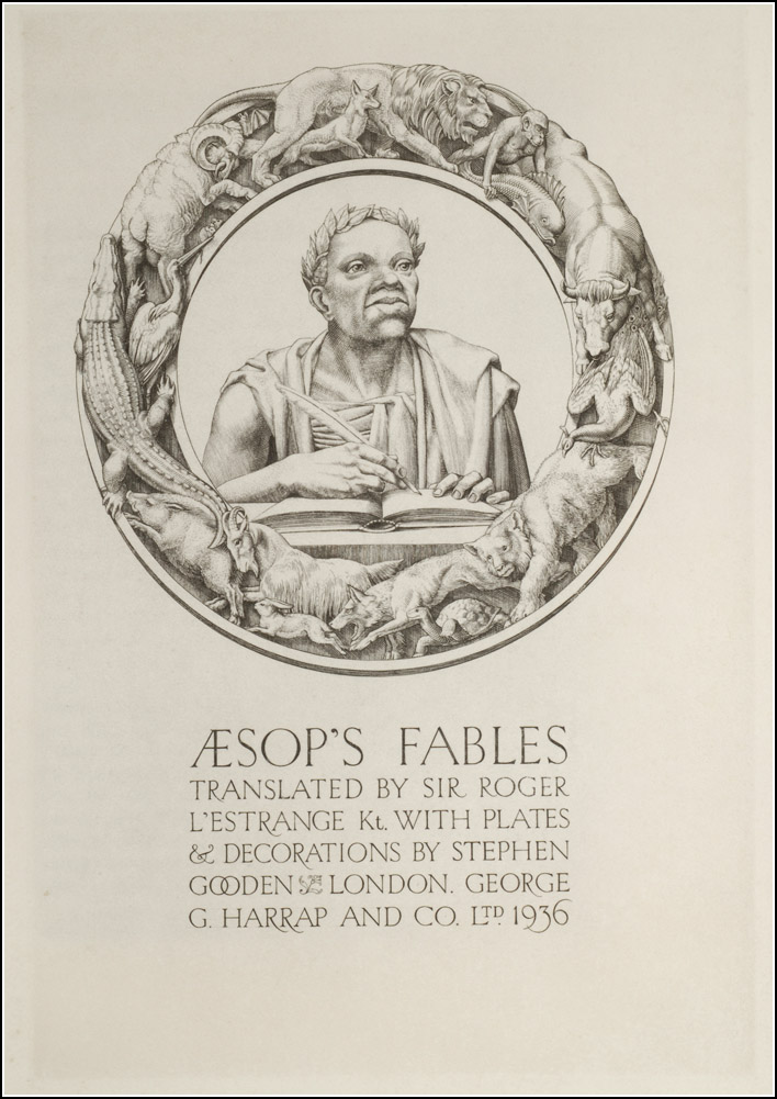 Stephen Gooden, Aesop's Fables
