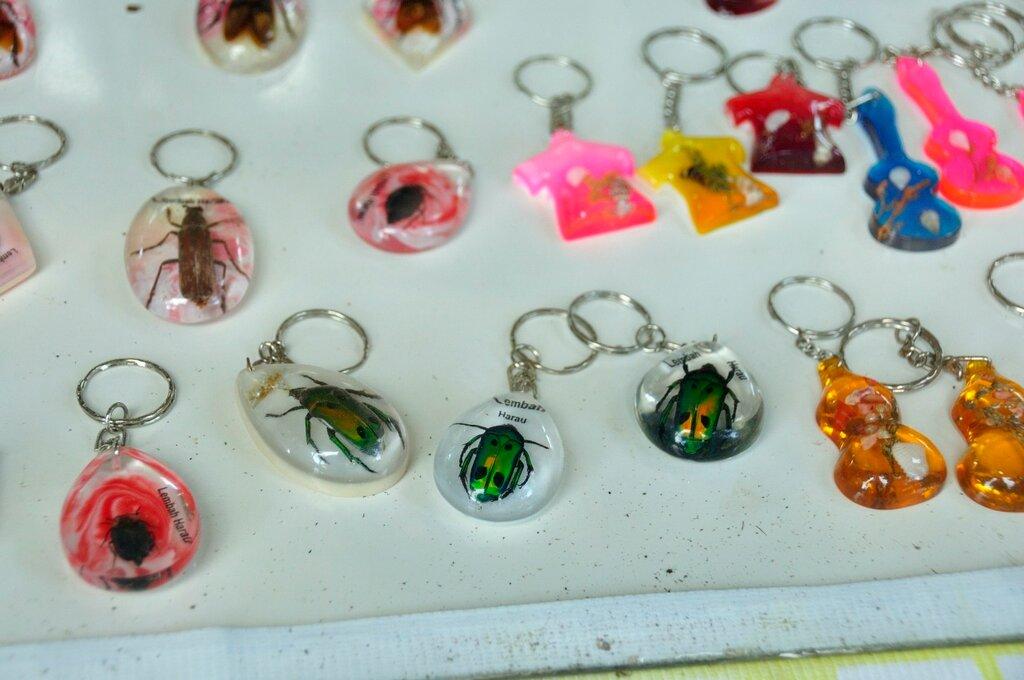 Сувениры в долине Харау