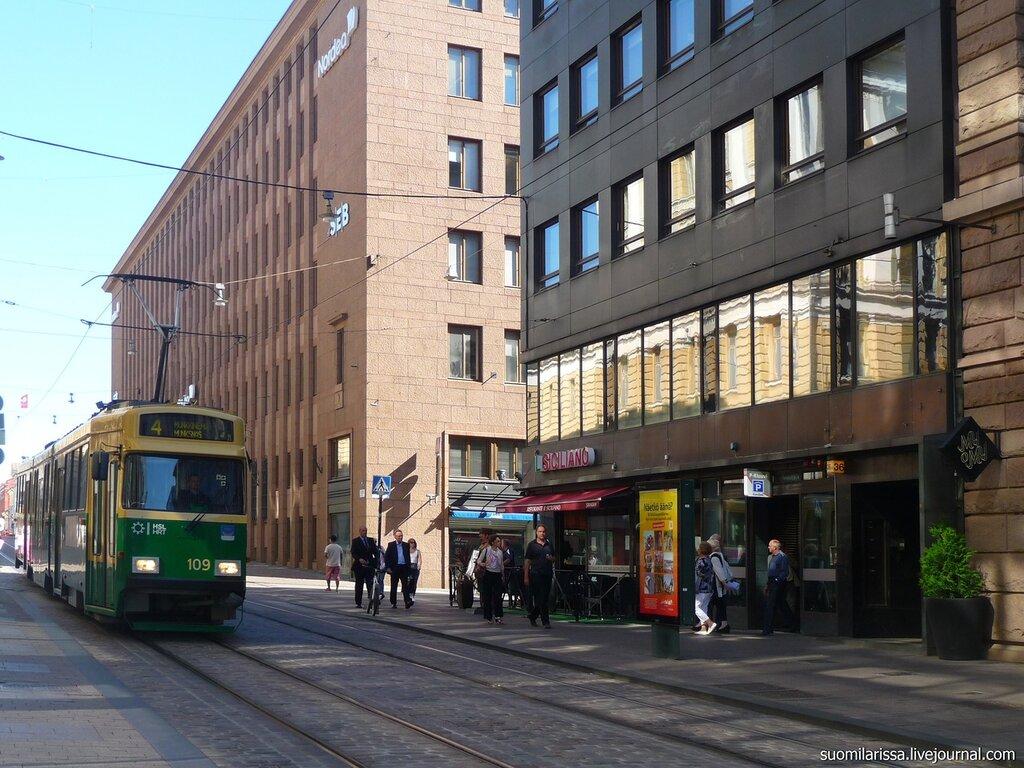 Хельсинки - городские зарисовки.