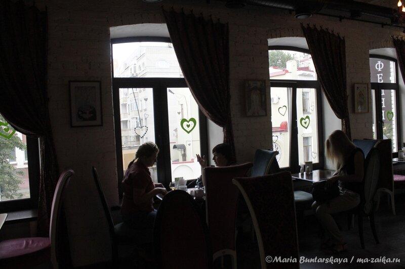 Путешествие 'Вокруг света', Саратов, кофейня 'Кофе и шоколад', 25 июля 2013 года