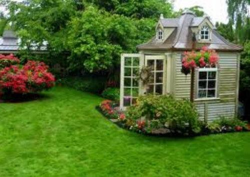 Садовые домики