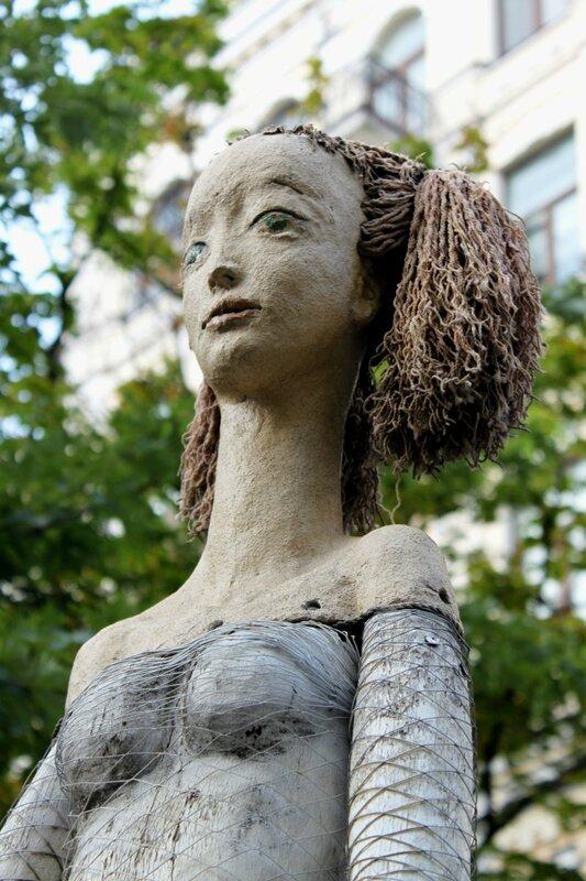 скульптура балерина киев