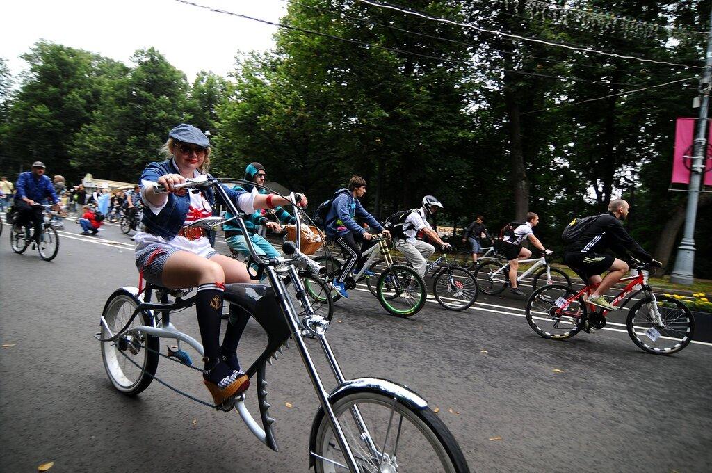 Велопарад «Леди на велосипеде»