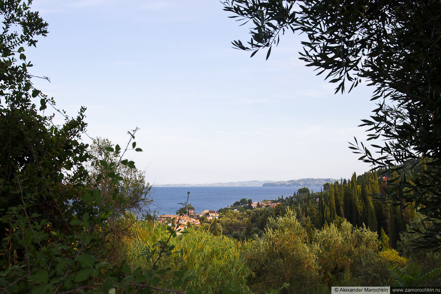 Вид на море в Беницесе